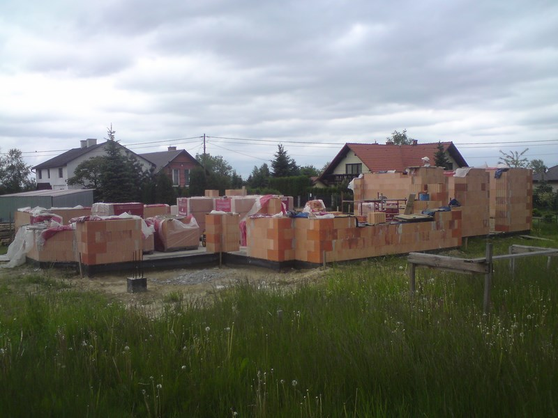 Biery ul.Graniczna - początek budowy